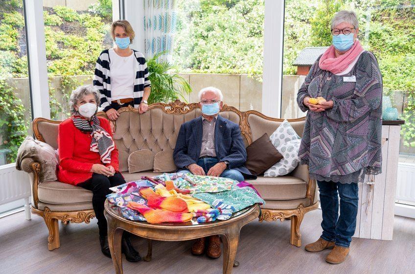 Handarbeiten für das Hospiz