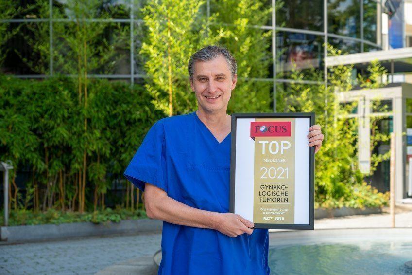 "EVK-Chefarzt ist ""Top-Mediziner 2021"""