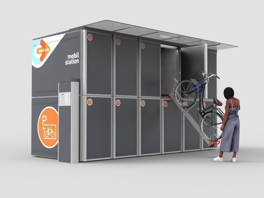 Digitale Fahrradboxen für den Rheinisch-Bergischen Kreis