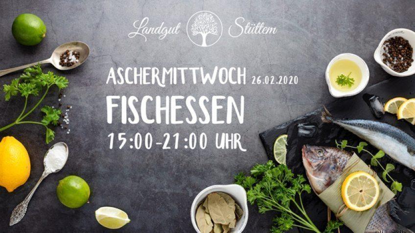 Aschermittwoch Fischessen im Landgut Stüttem