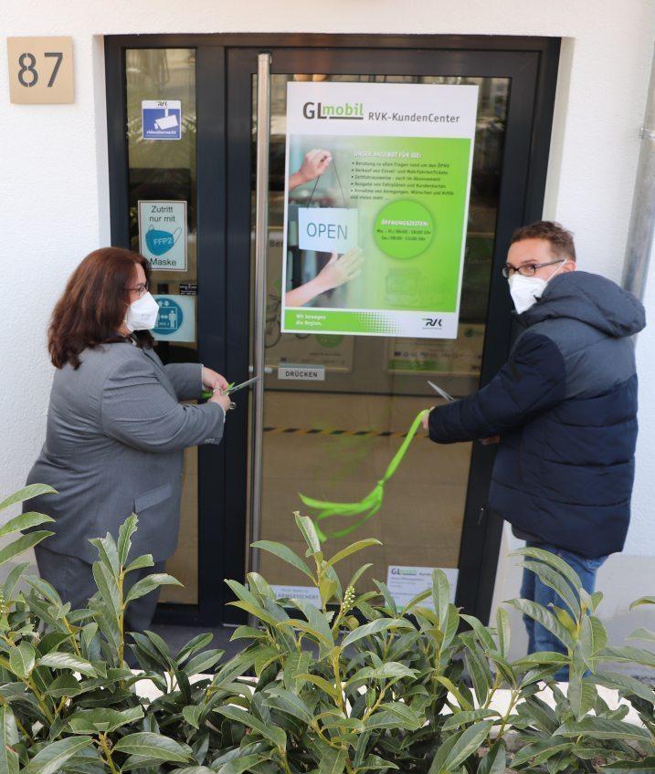 ÖPNV-KundenCenter GLmobil Rösrath öffnet seine Pforten