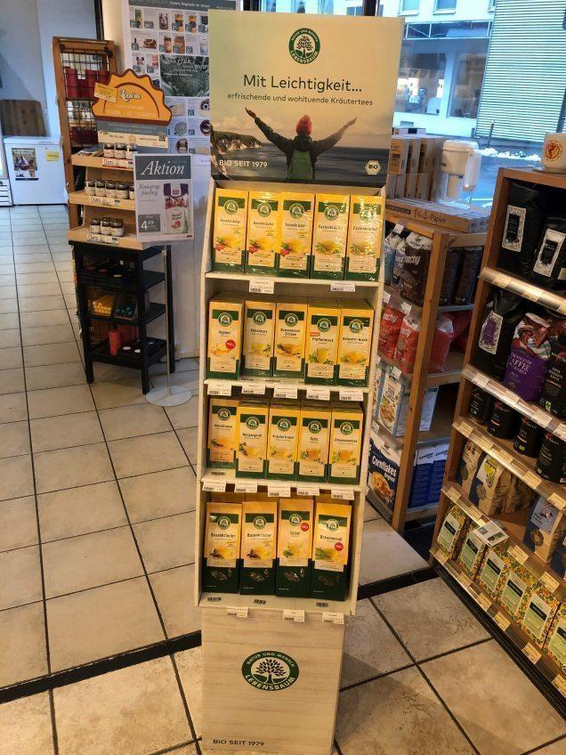 Bioladen Bensberg mit neuem Tee für die Fastenzeit