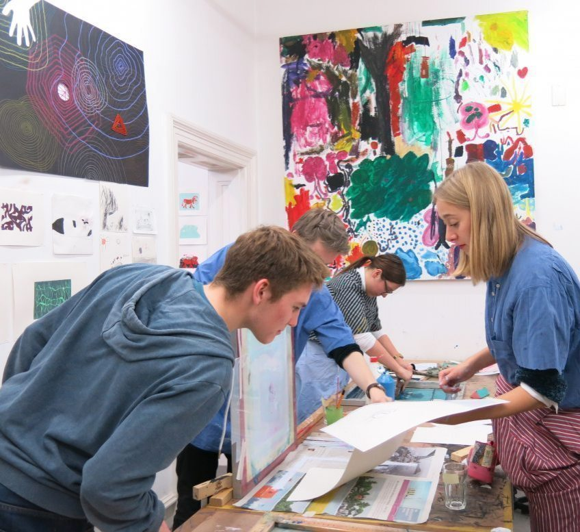 10. Oktober 2020 Kunstlabor Workshop für junge Menschen in der Villa Zanders Bergisch Gladbach ohne Teilnahmegebühr