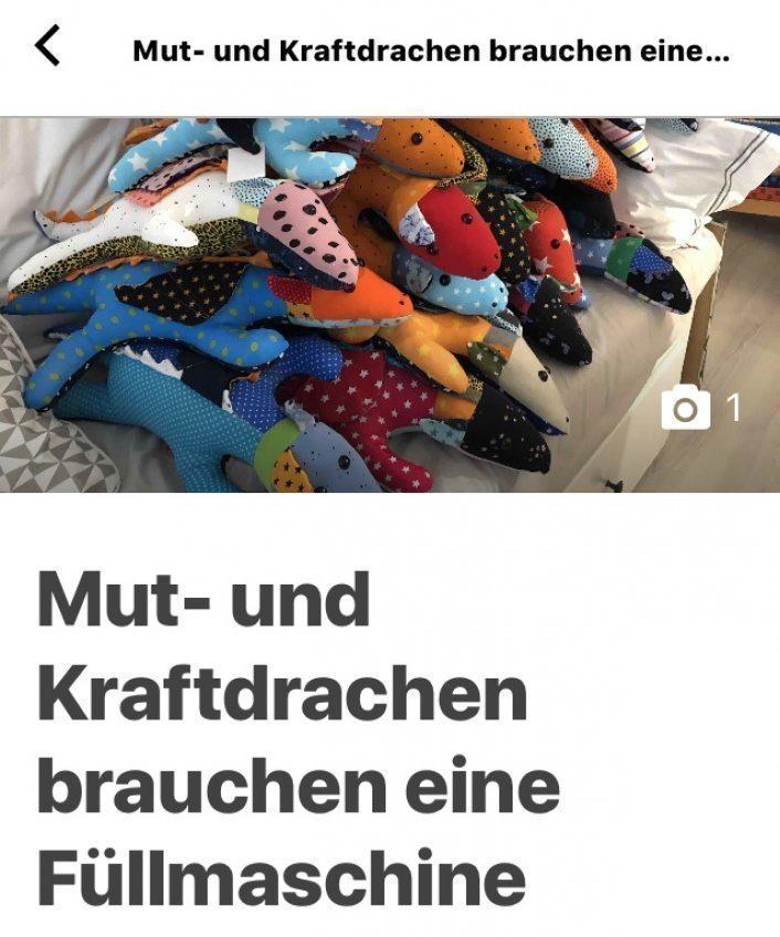 """Crowdfunding """"Mut und Kraftdrachen"""" von Angelika Kranefeld"""