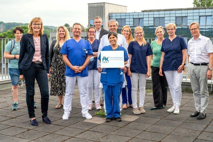 Erfolgreiche Rezertifizierung für EVK-Brustzentrum