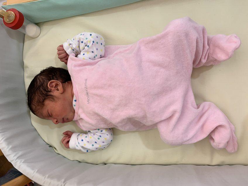 Jubiläumsbaby Ceylan  in Hohenlind geboren