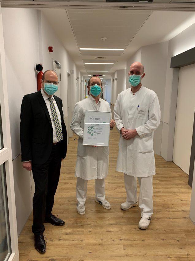 Beste Behandlung für Krebspatienten - Onkologisches Zentrum Köln-Hohenlind erfolgreich zertifiziert
