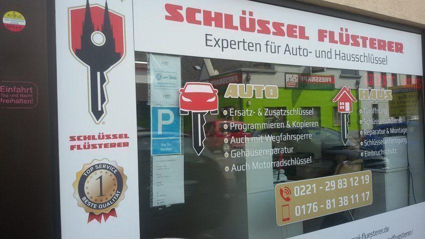 Schlüssel-Flüsterer Schlüsseldienst in Köln Dellbück für Auto und Türen mit zivilen Preisen