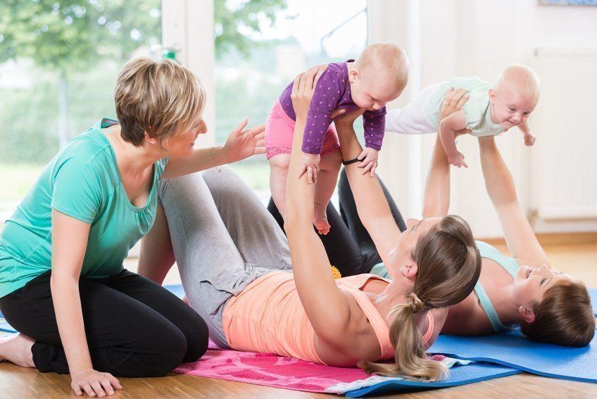 05.07.2021 Rückbildungsgymnastik mit Kind vom EVK Bergisch Gladbach