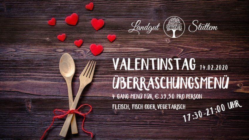 Valentinstag im Landgut Stüttem 14.02.2020